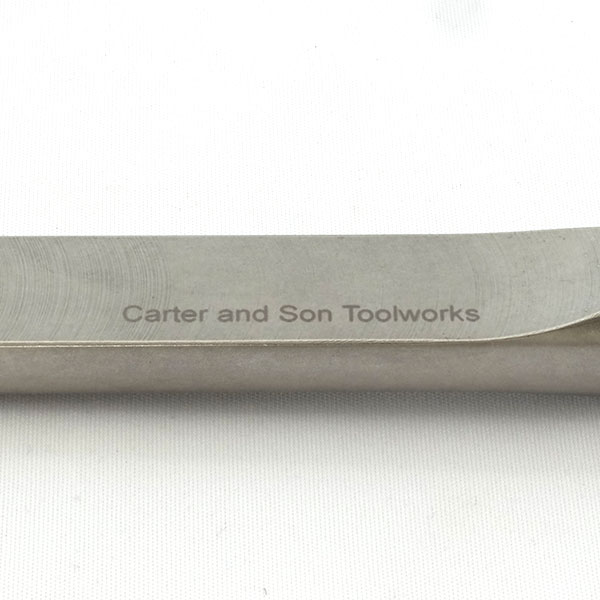 "Carter & Son Toolworks 3/4"" スキューチゼル (ハンドルなし)"
