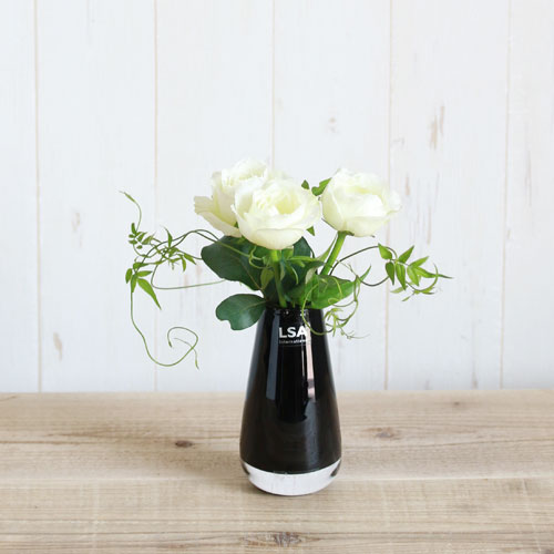 【LSA(エルエスエー)】FLOWER COLOUR BUD VASE BLACK