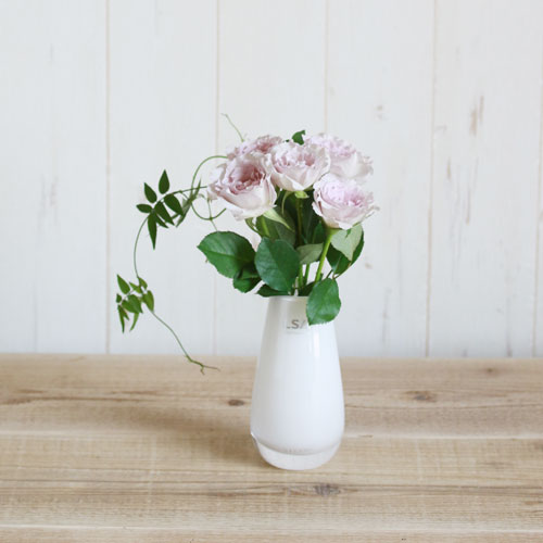 【LSA(エルエスエー)】FLOWER COLOUR BUD VASE WHITE