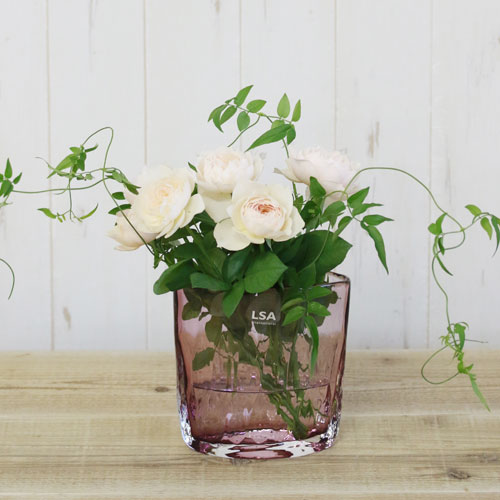【LSA(エルエスエー)】TULLE VASE PALE HEATHER