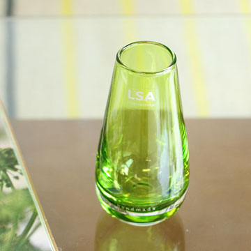 【LSA(エルエスエー)】FLOWER COLOUR BUD VASE LIME