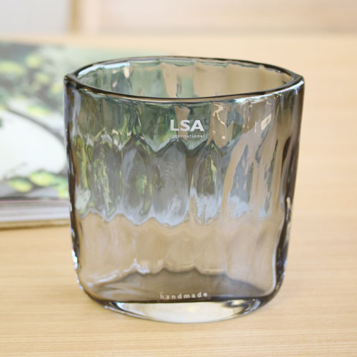 【LSA(エルエスエー)】TULLE VASE PALE GREY
