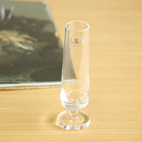 【LSA(エルエスエー)】CITY BAR SINGLE STEM VASE CLEAR