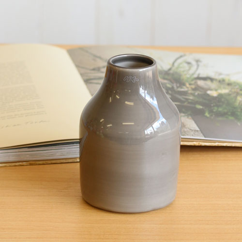 【KAHLER(ケーラー)】Botanica Pot mini Grey H145