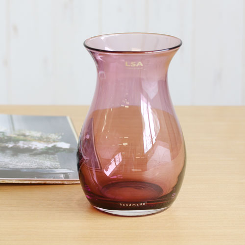 【LSA(エルエスエー)】FLOWER COLOUR POSY VASE (heather)