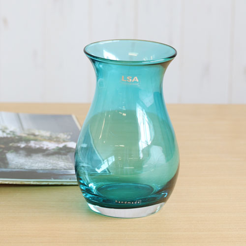 【LSA(エルエスエー)】FLOWER COLOUR POSY VASE (peacock)