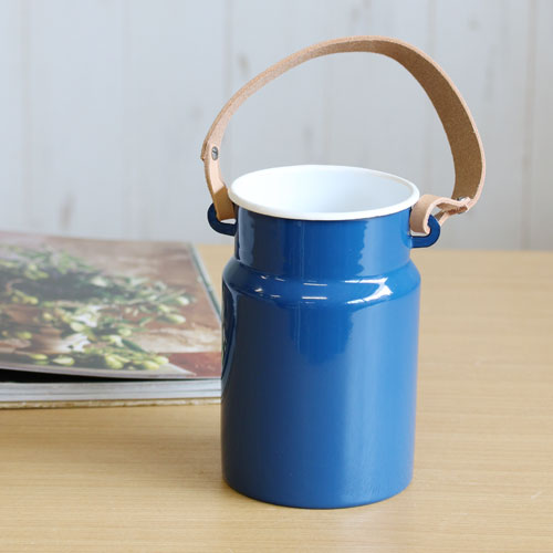 【LSA(エルエスエー)】UTILITY UTENSIL POT & LEATHER HANDLE (juniper blue)