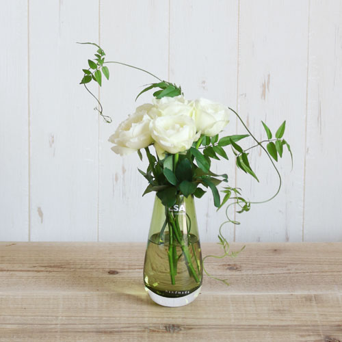 【LSA(エルエスエー)】FLOWER COLOUR BUD VASE OLIVE