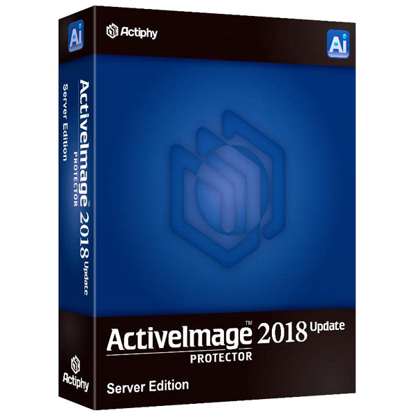 取寄 アクティファイ ActiveImage Protector 2018 Update Server Edition 1-4