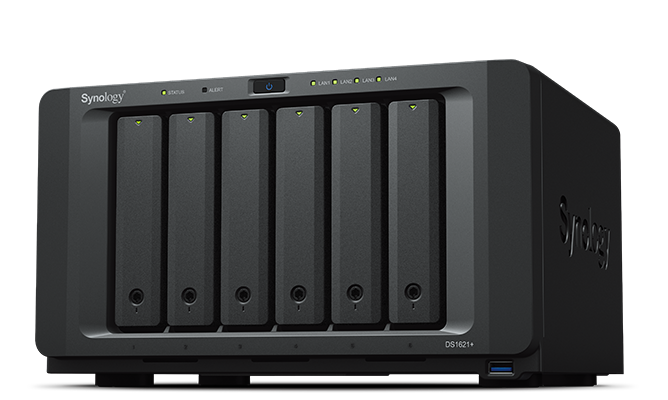Synology DiskStation DS1621+ インストール済、保守付