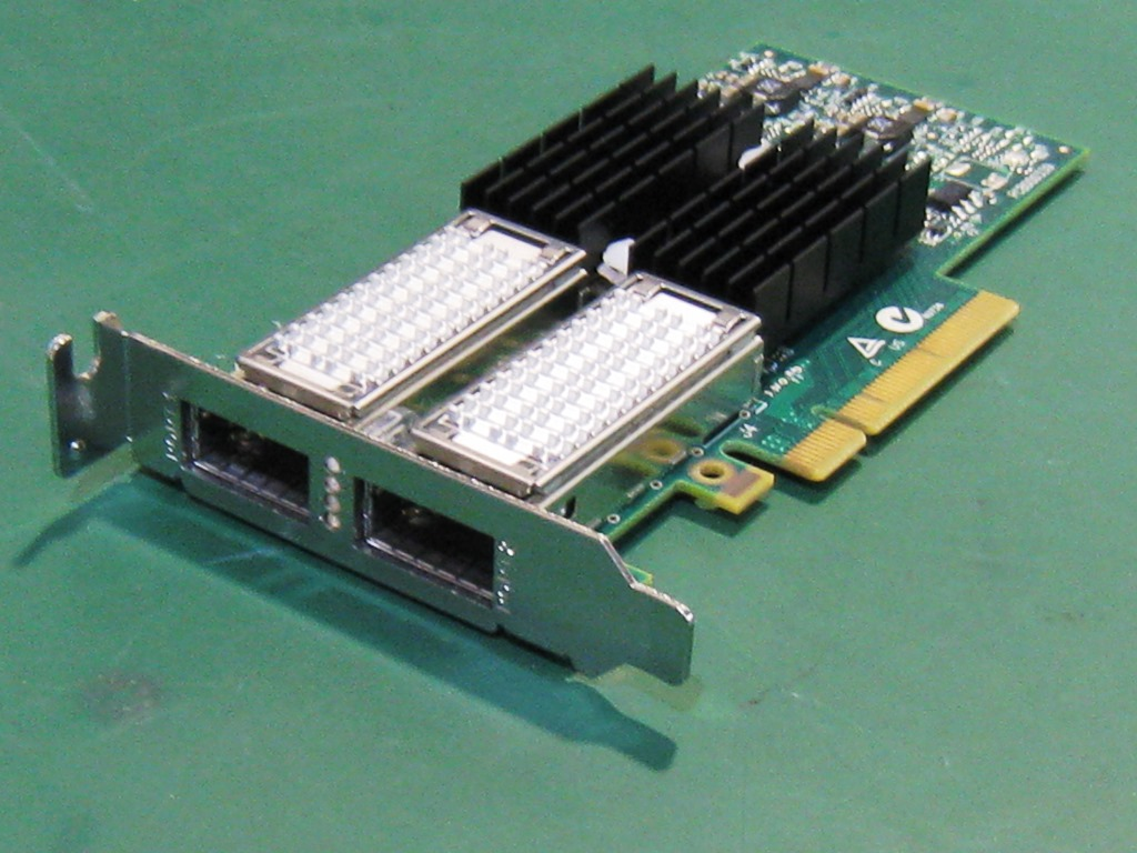 中古 Mellanox CX354A ConnectX-3 FDR InfiniBand + 40G ロープロファイル