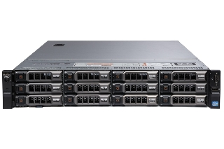 【otto認定中古】中古 DELL PowerEdge R720XD 3.5x12 2630LV2x2 1TBx4 SSD