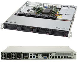 取寄 SuperMicro SYS-5019P-MR