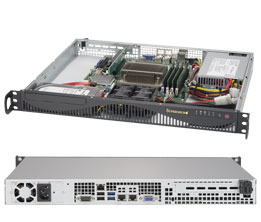 取寄 SuperMicro SYS-5019S-ML