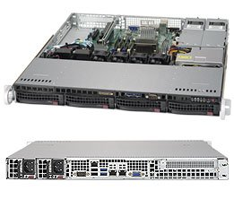 取寄 SuperMicro SYS-5019S-MR-G1585L