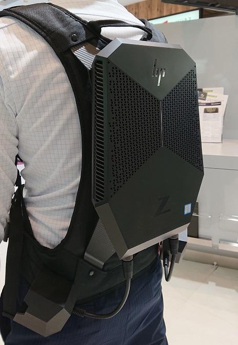 中古 HP Z VR Backpack G1 WS + MR Headset VR1000-123jp