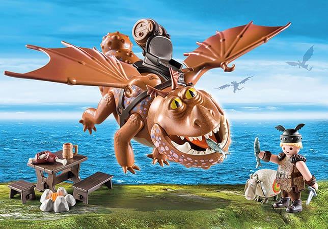 9460『ヒックとドラゴン 2』 フィッシュ&ミートラグ | プレモストア