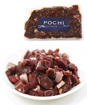 POCHI Marche エゾ鹿赤身角切り 100g◆クール便(冷凍)◆