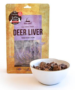 NZ産鹿肉のフリーズドライ DEER DEER