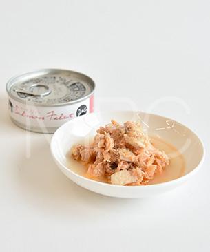 J&C サーモンフィレ缶