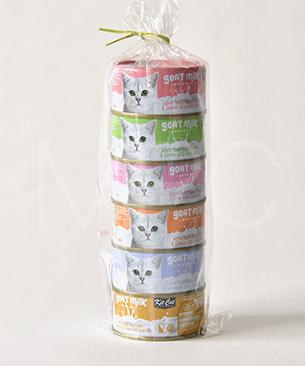キットキャット【数量限定商品】ゴートミルク ツナ アソートセット70g 6缶セット