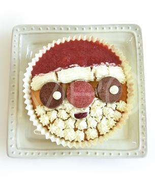 POCHI DELICATESSEN 【季節限定品】 サンタのデコレーションケーキ ◆クール便(冷凍)◆