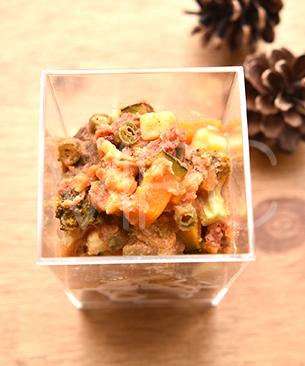 POCHI DELICATESSEN 【季節限定品】 カップデリ 鹿肉の煮込みハンバーグ 100g ◆クール便(冷凍)◆