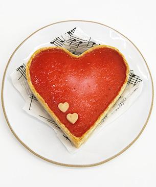 POCHI DELICATESSEN 【季節限定品】 ハートのチーズケーキ ◆クール便(冷凍)◆