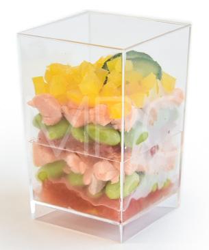 サーモンと夏野菜のカップデリ ◆クール便(冷凍)◆