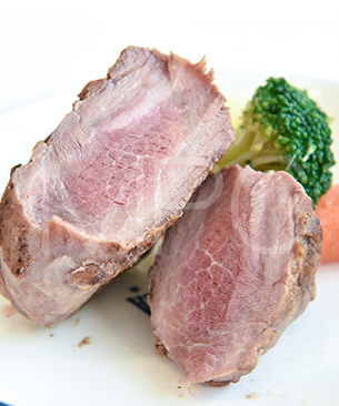 POCHI DELICATESSEN 【季節限定品】ラム肉のグリエ3種の野菜添え ◆クール便(冷凍)◆
