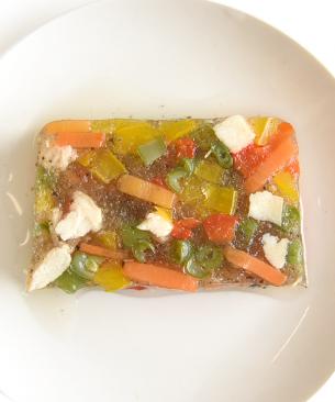 POCHI【季節限定品】鶏肉と彩野菜のテリーヌ ◆クール便(冷凍)◆