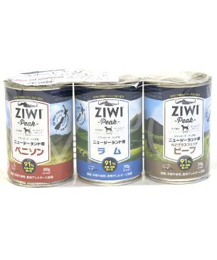 ジウィピーク 【数量限定品】 フリーレンジミート ベーシックドッグ 3缶セット