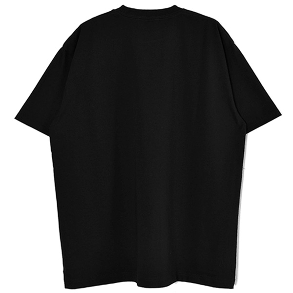 T-SHIRT/BLACK(GX-A21-ST-12)