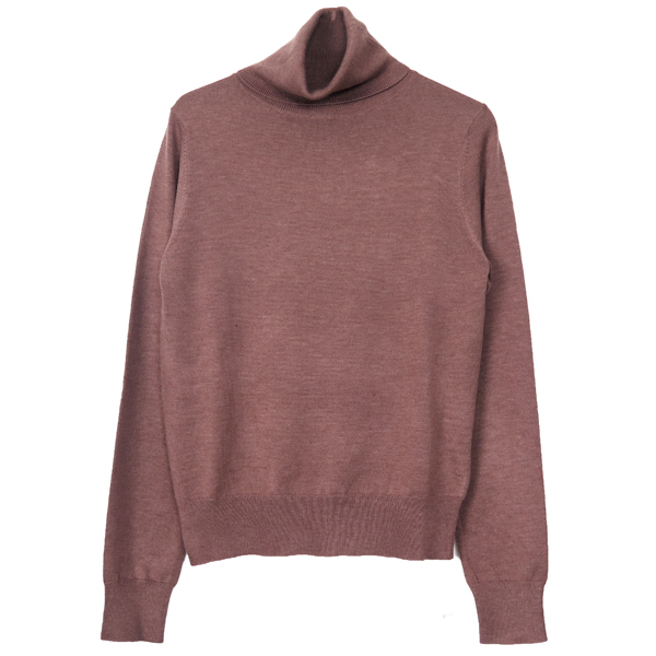 Soft Turtle Knit/DUSTY PINK