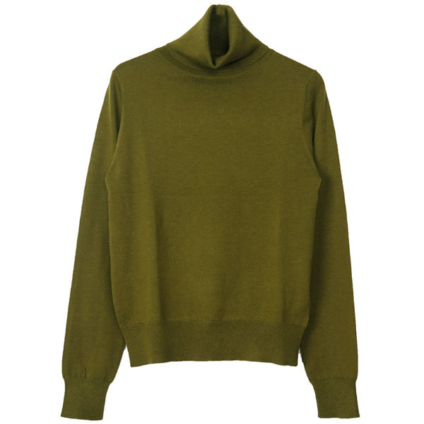 Soft Turtle Knit/OLIVE