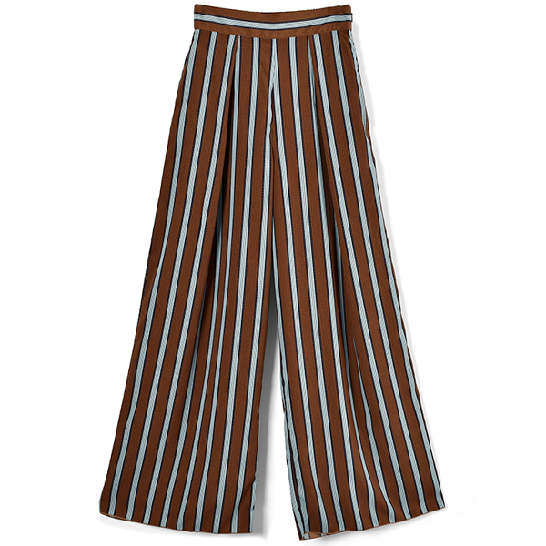 Stripe Tuck Pants/SUN