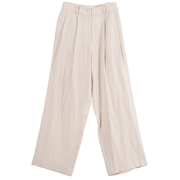Linen Trousers/ECRU