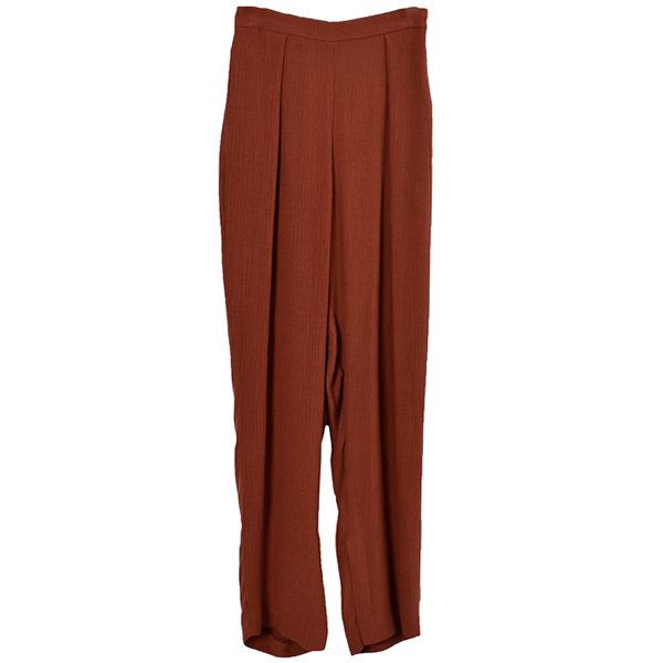 Crape Rough Pants/SUN