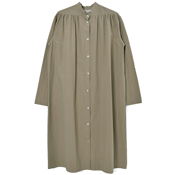 Gather Shirts Dress/GREGE