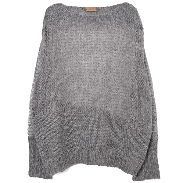 Mohair Lowgauge Knit/GRAY