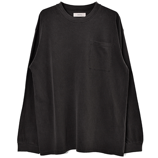Backprint Long T-Shirts/BLACK