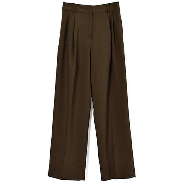 Centerpress Trousers/BROWN