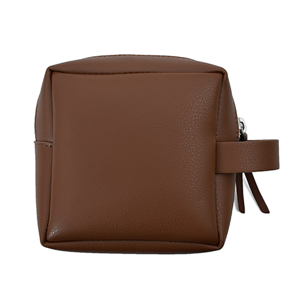 Square Mini Pouch/BROWN