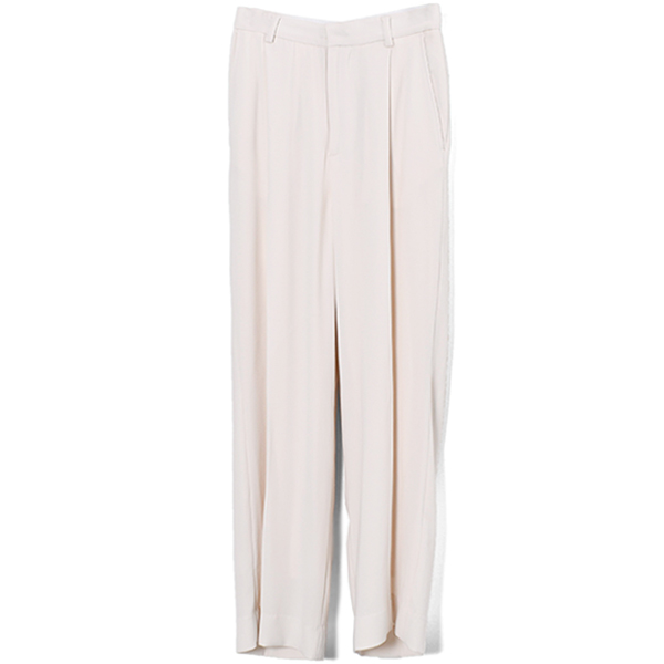 Georgette Rough Trouser/ECRU