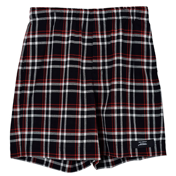 SHORTS N.HOOLYWOOD REBEL FABRIC BY UNDERCOVER/BK CHECK