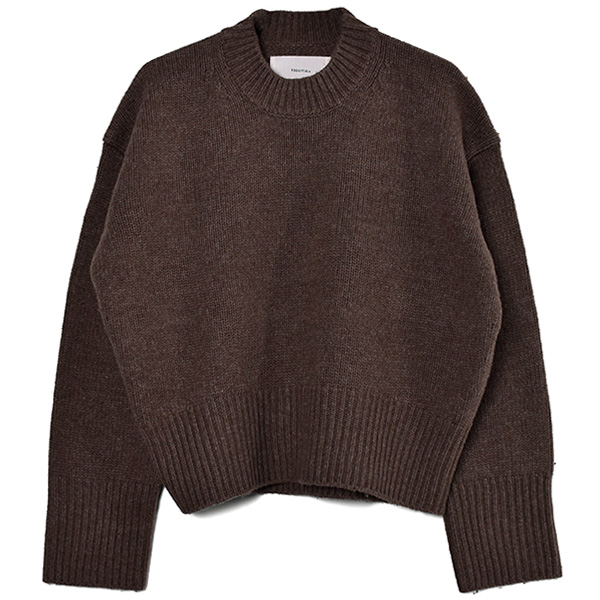 Lambswool Soft Knit/CHOCO