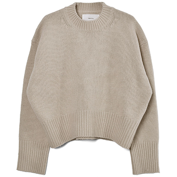 Lambswool Soft Knit/NATURAL
