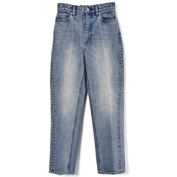 REMAKE TAPERED DENIM PANT/BLUE