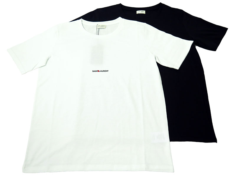 「SAINT LAURENT UNIVERSIT」半袖Tシャツ