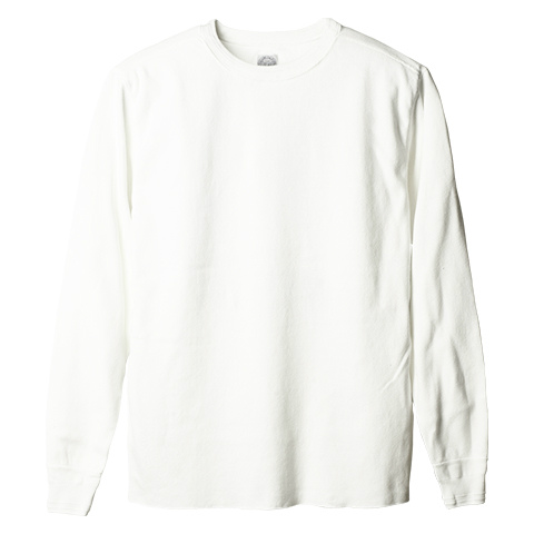 SD Rib Long Sleeve Crew Neck